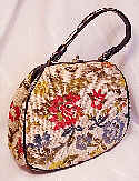 Colorful woven Tapestry bag