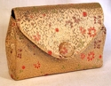 Rex 5th Ave. Brocade Fitted Clutch